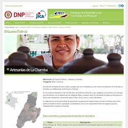 OVOP COLOMBIA > Iniciativas OVOP > Iniciativas por Categoría > Bien o Servicio > El Guamo (Tolima)