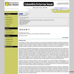 Revista Colombia InternacionalRevista No 46