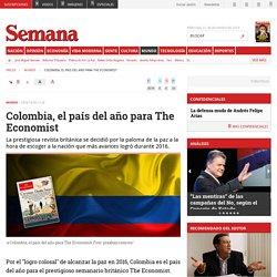 Colombia, el país del año para The Economist