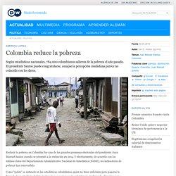 Colombia reduce la pobreza