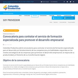 Colombia Productiva - Colombia Productiva