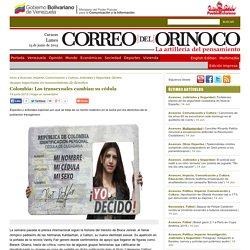 Colombia: Los transexuales cambian su cédula