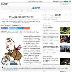Peru Colombia: Visados, espinas y clavos
