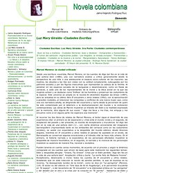 Novela Colombiana - Sociales Virtual - Pontificia Universidad Javeriana