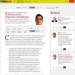El diseño en las empresas colombianas