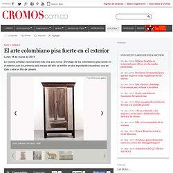 El arte colombiano pisa fuerte en el exterior