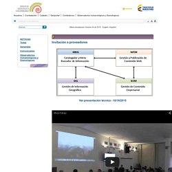 SGC - Servicio Geológico Colombiano - Invitación a proveedores