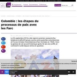 Colombie : les étapes du processus de paix avec les Farc