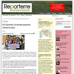 En Colombie, la révolte paysanne secoue le pays