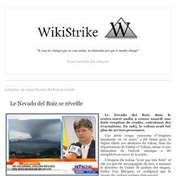Colombie: Le volcan Nevado del Ruiz se réveille