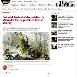 Colonial Australia's foundation is stained with the profits of British slavery
