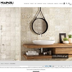 Colonial - Hydraulic - Mainzu ceramics