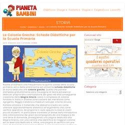 Le Colonie Greche: Schede Didattiche per la Scuola Primaria