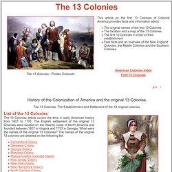8th grade colonial homework