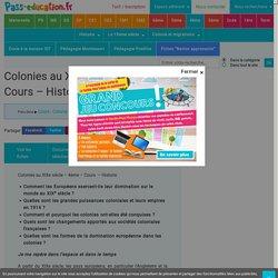 Colonies au XIXe siècle – 4ème – Cours – Histoire