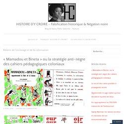 HISTOIRE D'Y CROIRE – Falsification historique & Négation noire