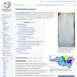 Colonisation grecque
