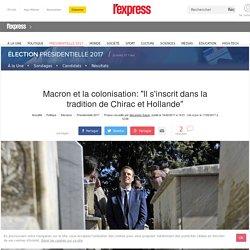 """Macron et la colonisation: """"Le mot vraiment sensible aurait été génocide"""""""