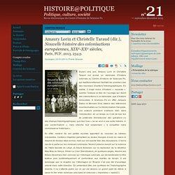 Amaury Lorin et Christelle Taraud (dir.), Nouvelle histoire des colonisations européennes, XIXe-XXe siècles,