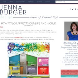 How Color Affects Our Life and World - Jenna Burger