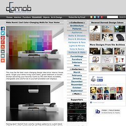 Make Room! Cool Color-Changing Walls for Your Home « Dornob