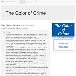 The Color of Crime 2016 revised edition