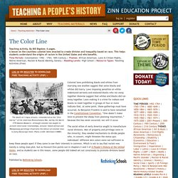 » The Color Line Zinn Education Project