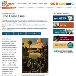 The Color Line - Zinn Education Project
