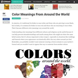 Color Meanings From Around the World