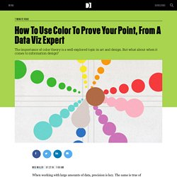 How To Use Color To Prove Your Point, From A Data Viz Expert