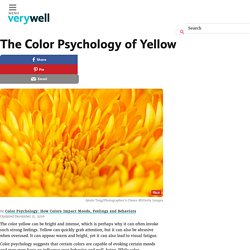 Color Psychology of Yellow - Its Impact on Mood