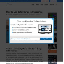 How to Use Color Range in Photoshop - f64 Academy