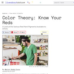 Color Theory for Painting Reds