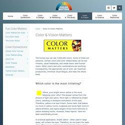 Color & Vision Matters