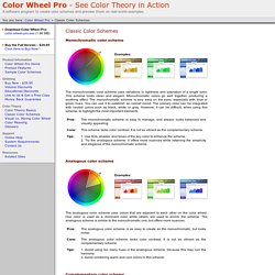 Color Wheel Pro: Classic Color Schemes