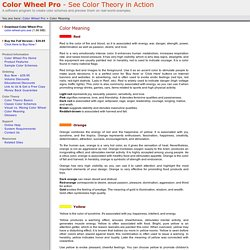 Color Wheel Pro: Color Meaning (emotions)