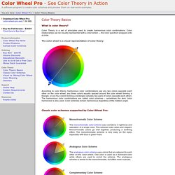 Color Wheel Pro: Color Theory Basics