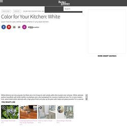 Color for Your Kitchen: White