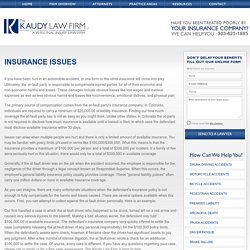 The Kaudy Law Firm LLC Provides Colorado Auto Accident Lawyer