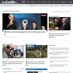 Colorado Springs Gazette, Local News, Latest News, Breaking News