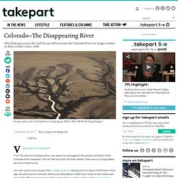 Colorado—The Disappearing River