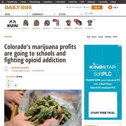 Colorado's marijuana profits are going to schools and fighting opioid addiction