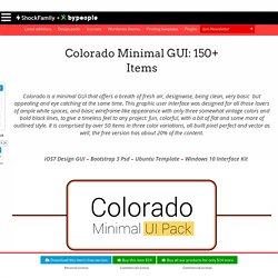 Colorado Minimal GUI: 150+ items