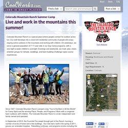 Colorado Mountain Ranch Summer Camp