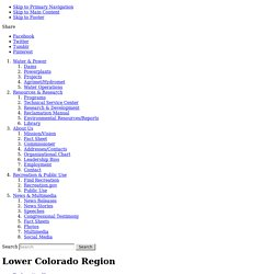 Lower Colorado Region