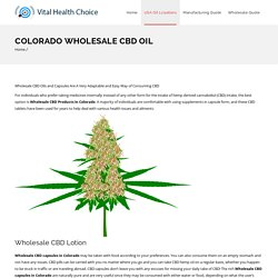 Colorado wholesale cbd oil - USA Hemp Wholesale CBD Oil