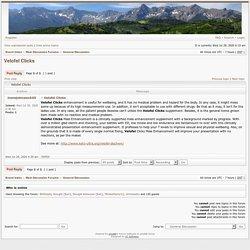 Colorado4Wheel.com - View topic - Velofel Clicks