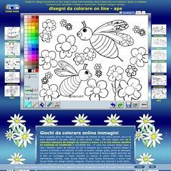 disegni da colorare on line per bambini, disegni online da colorare e stampare immagini