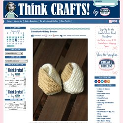 Colorblocked Baby Booties