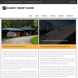 Colorbond Roofing Melbourne - Casey Roof Care